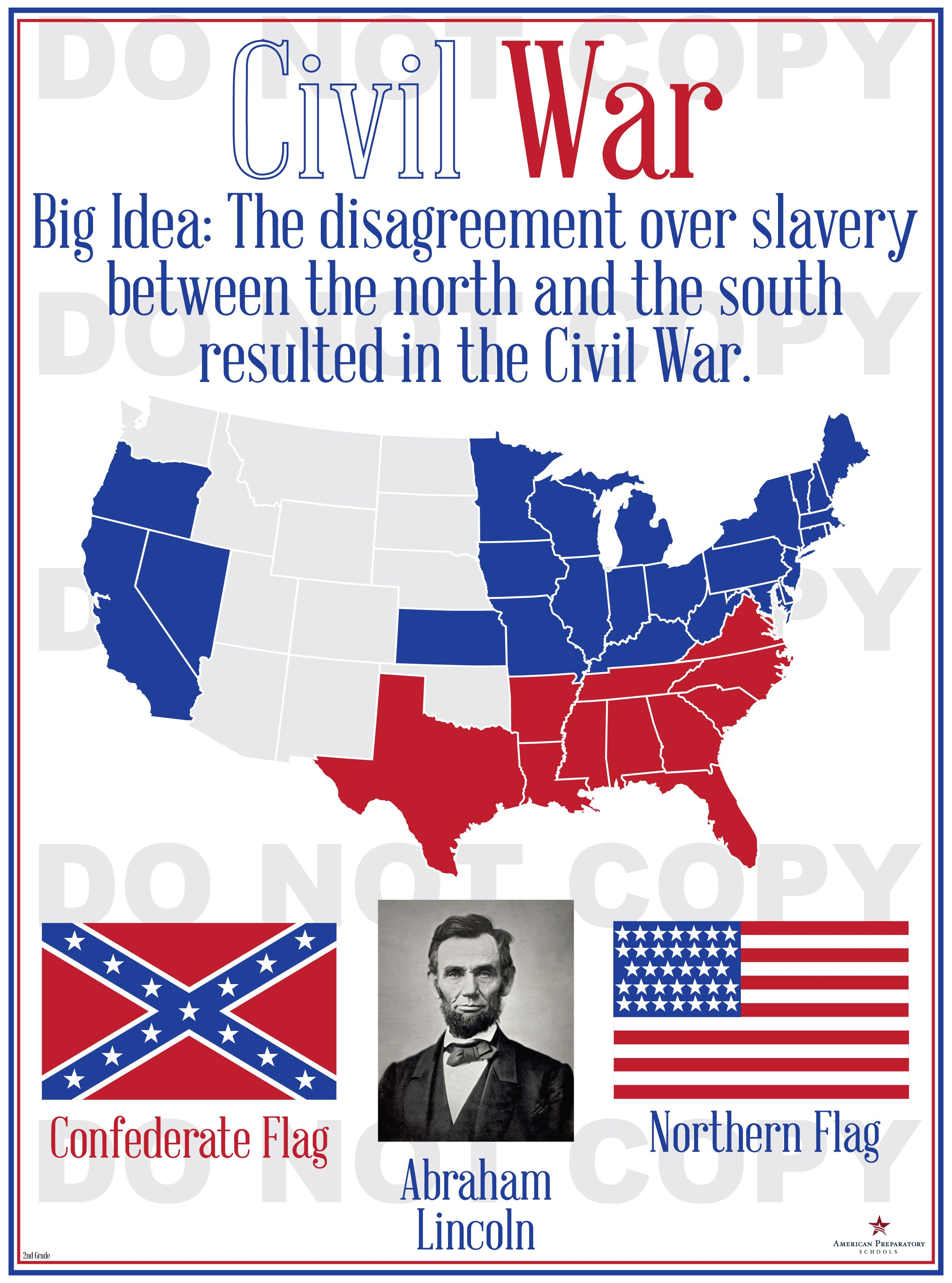 civil war as the second american