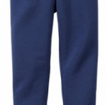 Preschool Girls Ankle Length Legging in Navy