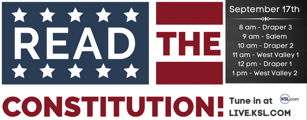 READ THE CONSTITUTION BANNER