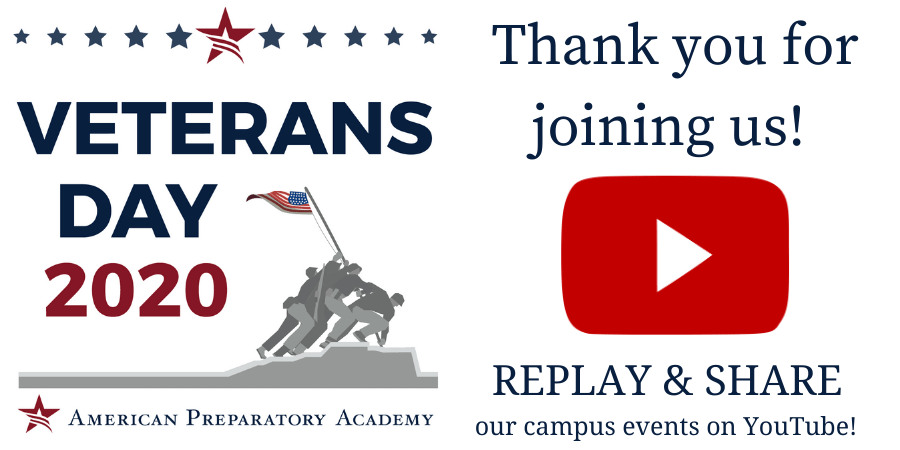 Thank you for joining us! - Banner