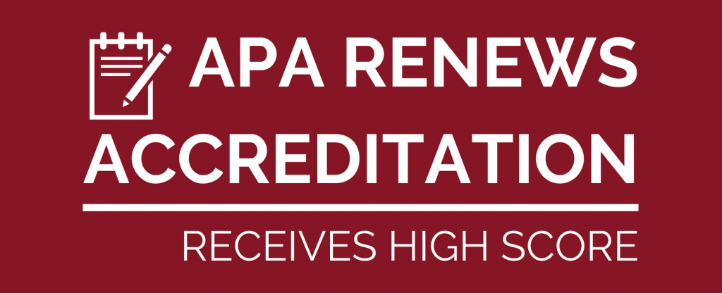 APA Passes Accreditation