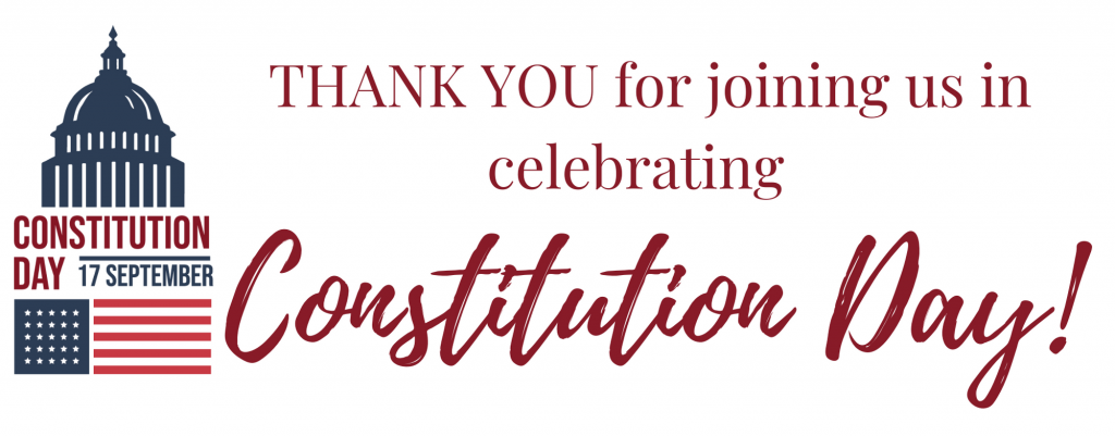 Thank you for celebrating Constitution Day with APA